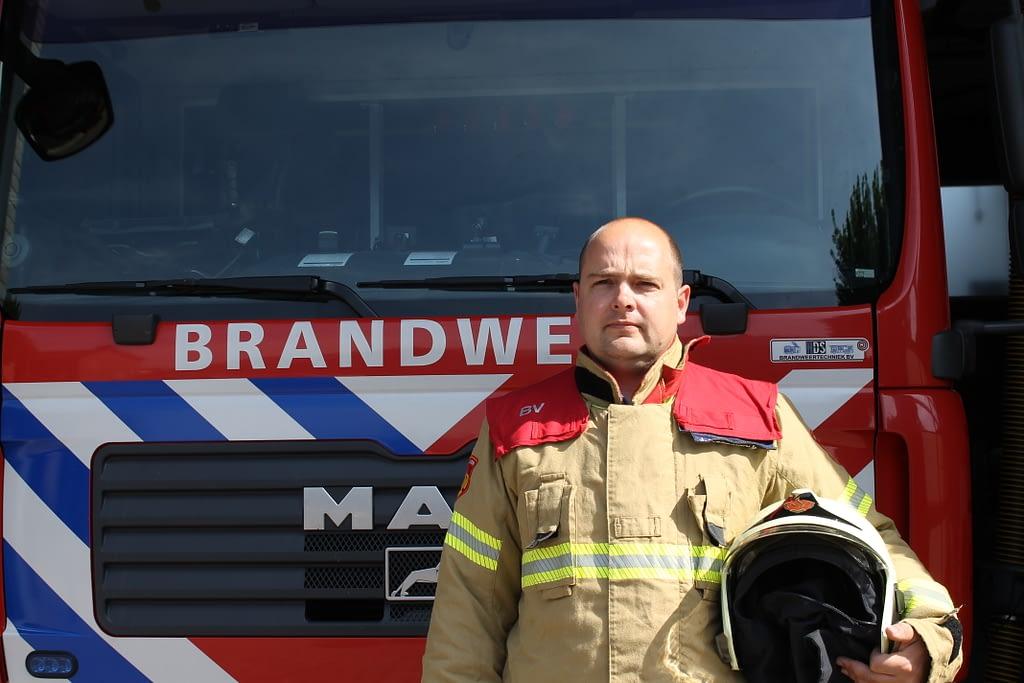 12,5 jaar ervaring bij de brandweer